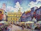 The Market of Verona, 1909