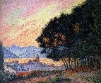Saint-Tropez, theTown and the Pines, 1902
