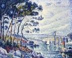 Lezardrieux Bridge, 1925