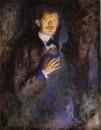 1895 autoportrait a la cigarette
