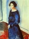 Женщина в синем (Фрау Барт), 1921
