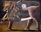 Лев и солнце. (Иранский лев).