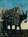 Продавец дров. Клеенка, масло. 111x90 ГМИ Грузии, Тбилиси