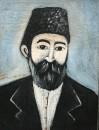 Портрет неизвестного в папахе. Конец ХIХ - начало ХХ в.