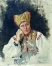 Русская крестьянка. 1896