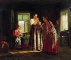 Сборы на гулянье. 1869