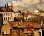 Крыши Парижа 1877