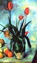 Натюрморт: Ваза с тюльпанами 1890-1892