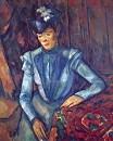 Дама в голубом Около 1900-1904