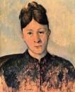 Портрет мадам Сезанн