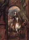Portrat-Karl-I-Konig-von-England-zu-Pferd-mit-seinem-Stallmeister-St-Antoine