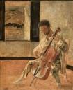 1920 Портрет виолончелиста Пишо Рикара