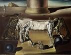 1930 Пароноидальная женщина-лошадь (Незримая спящая женщина, лев и лошадь)