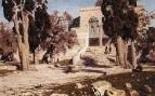 Мечеть Омара. Харам-эш-Шериф. 1882