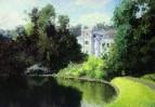 Пруд в парке. Ольшанка. 1877