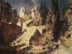 Лестница к замку. 1882-1883