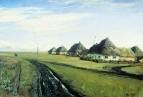 Дорога у деревни. 1877