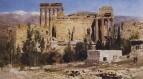 Баальбек. Развалины храма Юпитера и храма Солнца. 1882