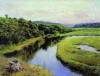 Река Клязьма. Жуковка. 1888