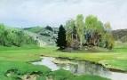 Речка Свинка близ Алексина. 1900-е