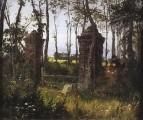 Старые ворота. Вель. Нормандия. 1874