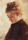 Голова натурщицы Бланш Ормье. 1875