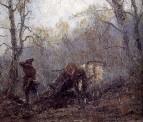 Осень в лесу. Досада мужика 1878