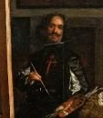 Автопортрет на картине Менины.