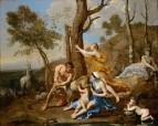 Воспитание Юпитера (середина 1630-х)