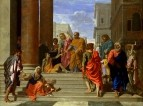 Святые Пётр и Иоанн, исцеляющие хромого (1655)