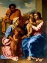Святое Семейство со св. Елизаветой и св. Иоанном Крестителем (между 1644 и 1655)