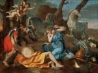 Танкред и Эрмитния (1630-е) (75 х 100) (Бирмингем, Институт ис-в Барбер)