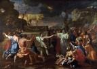 Поклонение золотому тельцу (1633-1634) (Лондон, Национальная галерея)