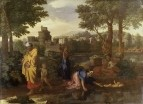 Нахождение Моисея (ок.1650) (105 х 204) (Оксфорд, музей Ашмол)