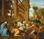 Поклонение волхвов (1633) (160 х 182) (Дрезденская галерея)