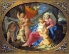 Святое семейство с юным Иоанном Крестителем и ангелами