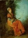 Мечтательница (1712-1714) (23.4 х 17) (Чикаго, Институт искусств)