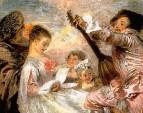 Урок музыки (1719) (Лондон, собрание Уоллеса)
