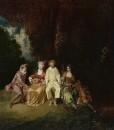 Счастливый Пьеро (ок.1712) (35 x 31) (Мадрид, Музей Тиссена-Борнемисы)