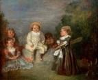 Счастливый возраст, золотой возраст (1716-1720) (Форт-Уорт, Худ. музей Кимбелл)