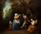 Деревенский танец (1706-1710) (50 x 60) (Индианополис, Музей искусства)