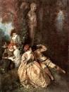 Галантный Арлекин (1716-1718) (34 х 26) (Лондон, собрание Уоллеса)