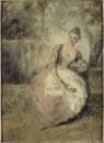 Влюблённая (между 1715 и 1717