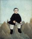 Мальчик на скалах
