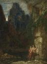 Воспитание Ахиллеса (Кентавр) (33 х 24.5 см) (частное собрание)