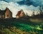 Дома в полях
