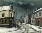 Village Road under the Snow, 1928-30