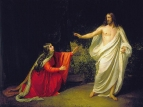Явление Христа Марии Магдалине после воскресения. 1835