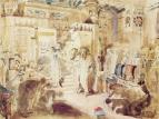 Фараон просит Моисея и Аарона вывести еврейский народ из Египта