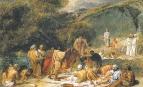 Явление Христа народу. Первоначальный эскиз картины